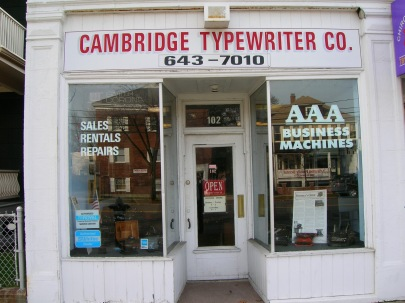 CambridgeTypewriter