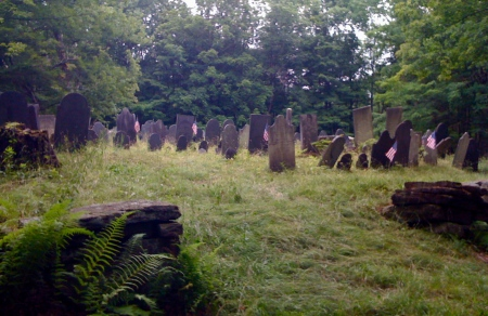 A cemetery in Acworth, New Hampshire.