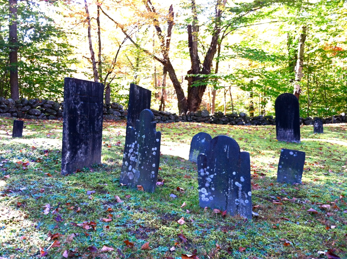 New England Graves: We Are But Dust.