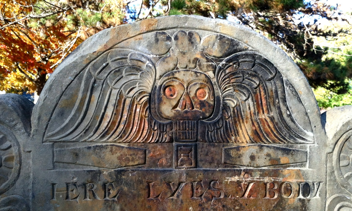 New England Graves: Death's Triumph.