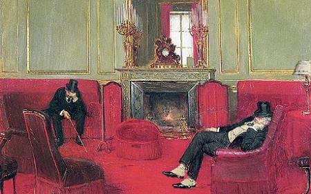 Jean Beraud, The Club, 1911.