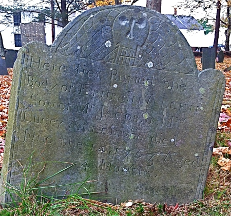 Ephriam Allen, 1763, Sturbridge, Massachusetts.
